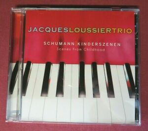 JACQUES LOUSSIER TRIO Schumann Kinderszenen SCENES FROM CHILDHOOD - CD ALBUM New