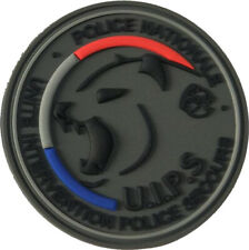 Ecusson collection UIPS Police Nationale - PVC 3D