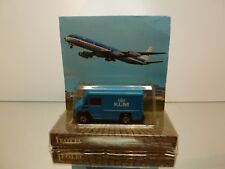 LEOTEC EFSI? 302 COMMER TRUCK - KLM  - BLUE - UNUSED IN BLISTER-CARD
