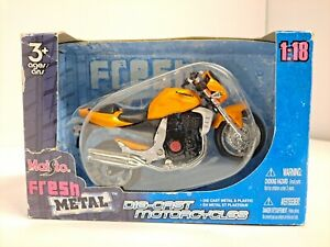 Maisto Kawasaki Motorcycle Diecast 1:18 Preowned Sealed 2007