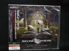 SECRET SPHERE A Time Never Come (2015 Edition) + 2 JAPAN CD Vision Divine
