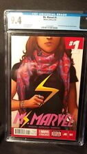 Ms. Marvel Vol 3 Issue #1(Slabbed; CGC Grade 9.4) by Comic Blink