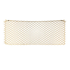12X31 Framed TAN DIAMOND Cargo Net storage netting RV Boat Trailer Golf Cart