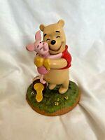 Pooh & Friends POOH & PIGLET Figurine A Good Friend Sticks to You Like Honey