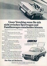 FIAT - 128-Berlinetta - 1975-pubblicità con loghi pubblicità-genuineadvertising-NL-commercio di spedizione