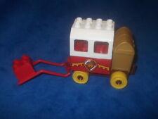 Lego Duplo Ville Ritterburg KUTSCHE f. Pferd WAPPEN 10568 10577 10569 Schatzraub