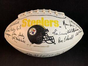 Vintage 1995 Pittsburgh Steelers Facsimile Team-Signed Football