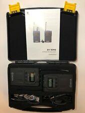 BOYA BY-WM6 2 X  WIRELESS MICROPHONE RECEIVERS ONLY XLR adapter UK