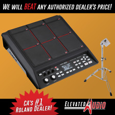New Roland Spd-Sx Sampling Pad + Used Roland Pad Stand! Buy from Ca's #1 Dealer!