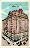 Vintage Postcard - Posted 1929 Hotel Martinique Broadwa Street New York NY #4416