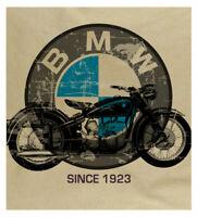 Men's BMW Motorcycle Retro Motorrad German Engineering Print Sand T-shirt