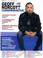 GEOFF NORCOTT Theatre Flyer Tour Handbill