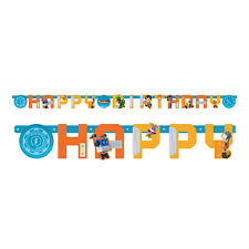 Rusty Rivets Childrens Happy Birthday Letter Banner Bunting Garland 210cm Long