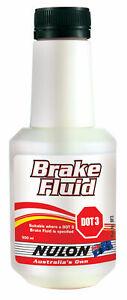 Nulon Brake Fluid DOT 3 500ml BF3 fits Nissan Fairlady 1600 Roadster R16 (SP310)
