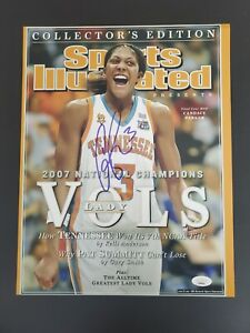 Candace Parker Signed 11x14 ESPN Cover Photo LADY VOLS JSA COA