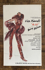 Liza Minnelli The Act Broadway Musical Window Card Poster 1977