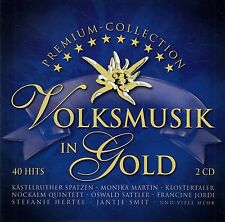 VOLKSMUSIK IN GOLD / 2 CD-SET - TOP-ZUSTAND