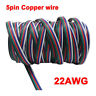 1M-100M 5pin Extension Cable Cord Wire for 5050 RGBW RGBWW LED Strip Light 22AWG