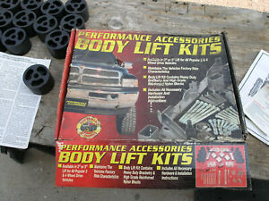 "2"" BODY LIFT KIT Performance Acc 822  for 1992-1997 Ford F-150 F-250 93 94 95 96"