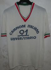 MAGLIA SHIRT JERSEY BOXE BASKET VOLLEY RUNNING UNIVERSITA' ITALY 1991 SZ.M/L
