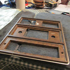 NOS 1975 - 1978 FORD GALAXIE LTD CUSTOM 500 COUNTRY SQUIRE WOODGRAIN RADIO BEZEL