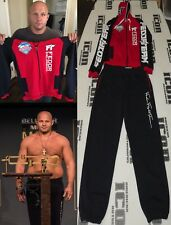 Fedor Emelienenko Signed Bellator MSG Fight Week Used Worn SweatSuit BAS COA MMA