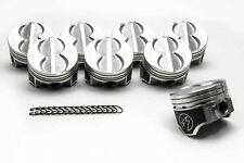 Speed Pro Ford 289 302 Flat Top Hypereutectic Coated Pistons Set8 901 030