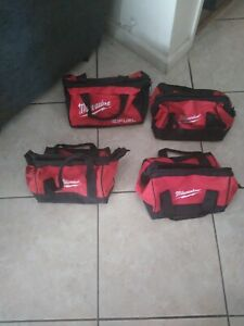 Lot of 4 Milwaukee Tool Bags - Free shipping