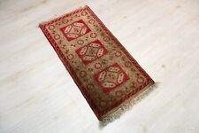 """Sivas Carpet Doormat, 19.7""""x38.2"""", Turkish Doormat, Handmade Vintage Doormat"""