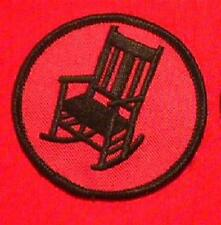 ROCKING CHAIR PATROL Boy Cub Scout old goat patch red round