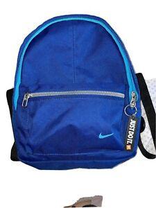 Blue NIKE rucksack Small