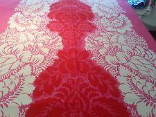 MARIMEKKO  ANANAS  Pink White Red Cotton Fabric 18 in. x 57 in.46 x 145 cm