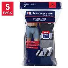 Champion Men's Boxer Brief 5 pair