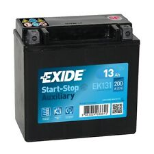 Exide EK131 Stützbatterie Start-Stopp Auxiliary 12Ah AGM Stützbatterie