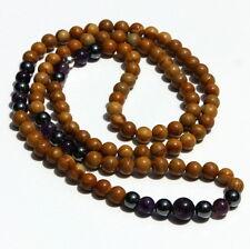 Mystic Woods Mala - 108 Count - Tibetan Hindu Buddhism Spiritual Prayer Beads