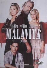 MALAVITA - BESSON / DE NIRO / PFEIFFER - ORIGINAL LARGE FRENCH MOVIE POSTER