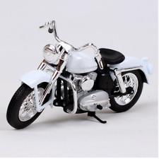 Maisto 1:18 Harley Davidson 1952 K Model White Motorcycle Model NEW IN BOX