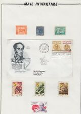 Mail in Wartime - Bolivia Simon Bolivar Stamps and Cover