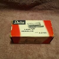 VINTAGE BICYCLE LIGHT DELTA LARK BICYCLE LIGHT WITH BOX 1950's Model # A2795 NIB
