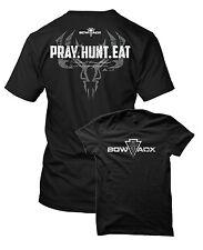 BOWADX- PRAY HUNT EAT Bowhunting T Shirt (Hoyt, Mathews, Bowtech, PSE)