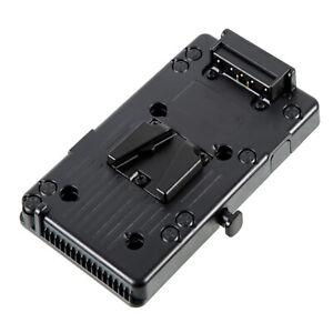 V-Mount / V-Lock Platte Kameraplatte für Akkus mit Powertap für Sony