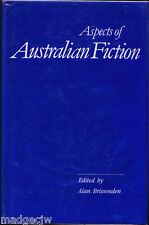 Aspects of Australian Fiction Twelve Essays presented to John Colmer Hardback/DJ