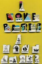 10 FEVES  I LOVE PARIS   série complète   ..ref.D180