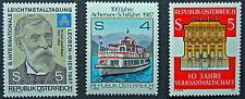 AUTRICHE timbre - Yvert et Tellier n°1718 à 1720 n** stamp Austria (cyn5)