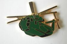 US USA CH-53 Sea Stallion Helicopter Military Hat Lapel Pin