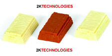 EFE 99604 Stacks of Bricks x 3 Brick/Cream 1/76th New Pack - 1st Class Post