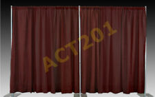 8 FT HIGH x 20 FT WIDE PIPE AND DRAPE KIT (WITH PREMIUM DRAPES) - PIPE & DRAPE