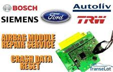 FORD TRANSIT CONNECT 0285001956 AIRBAG SRS MODULE CRASH DATA RESET SERVICE
