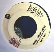 "CALIFORNIA/RALF NOWY - MUSIC MUSIC MUSIC/ROCK'N ROLL VAMPI -  7"" JUKEBOX EDITION"
