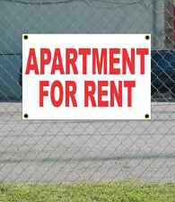 2x3 APARTMENT FOR RENT Red & White Banner Sign NEW